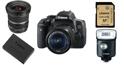 Nên sắm sửa phụ kiện gì cho máy ảnh Canon 750D?