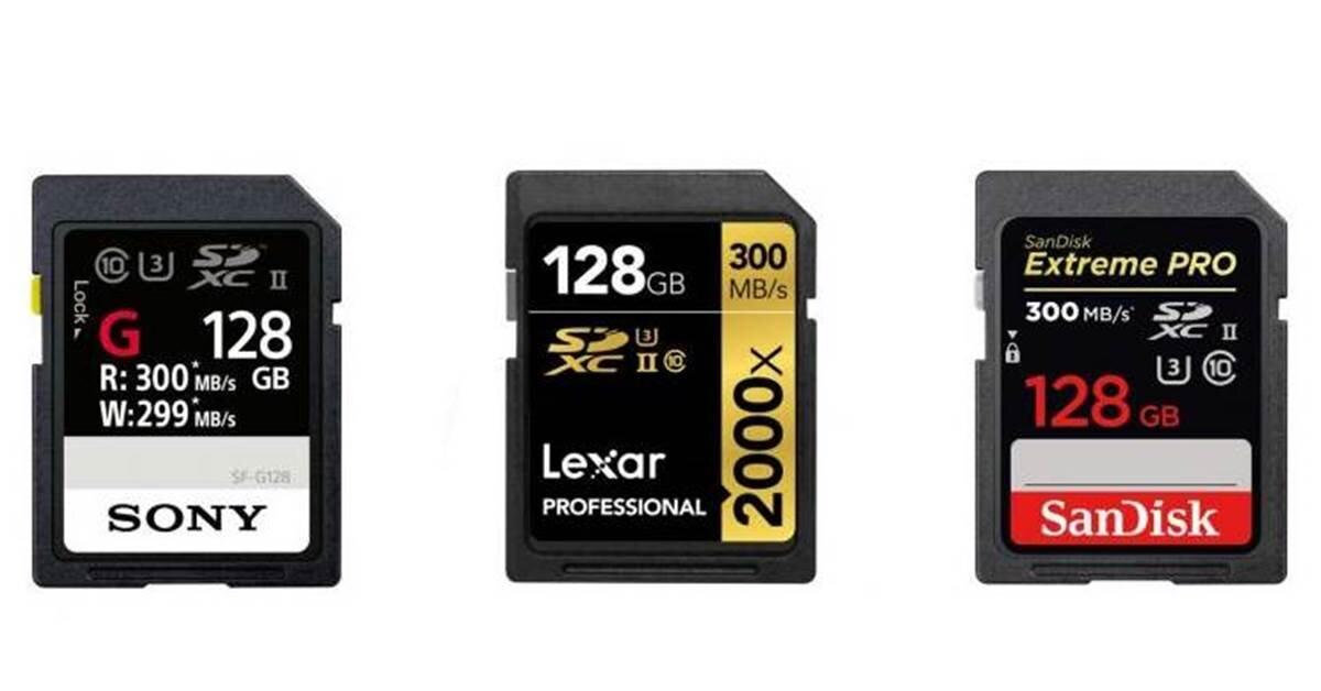 Máy ảnh mirrorless full frame Canon EOS R thích hợp sử dụng loại thẻ nhớ nào?