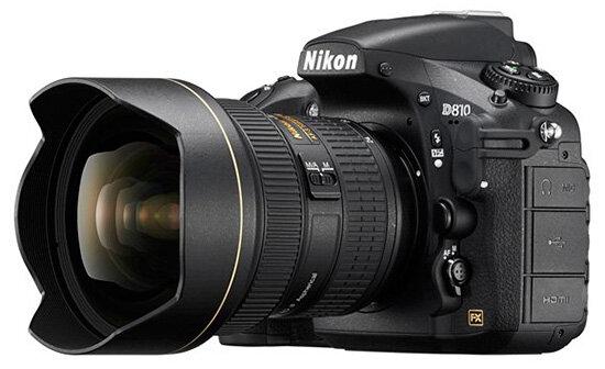 Máy ảnh Nikon D810 hỗ trợ dải nhạy sáng siêu rộng