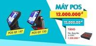 Máy bán hàng cảm ứng GPOS QT 147 – Máy tính tiền cảm ứng chuyên nghiệp