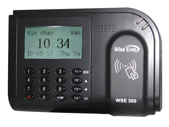 Máy chấm công thẻ cảm ứng Wise Eye WSE-300 - Chính xác và bảo mật