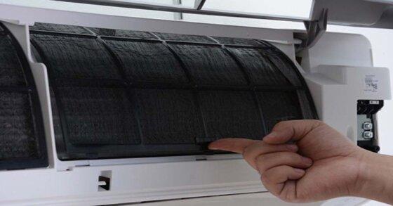 Máy điều hòa Toshiba bị đóng tuyết tại dàn lạnh