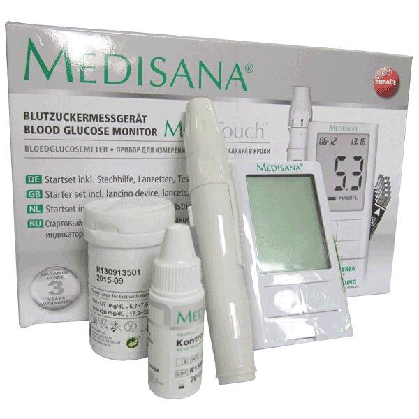 Máy đo đường huyết Meditouch 2 thương hiệu Medisana Công hòa liên bang Đức