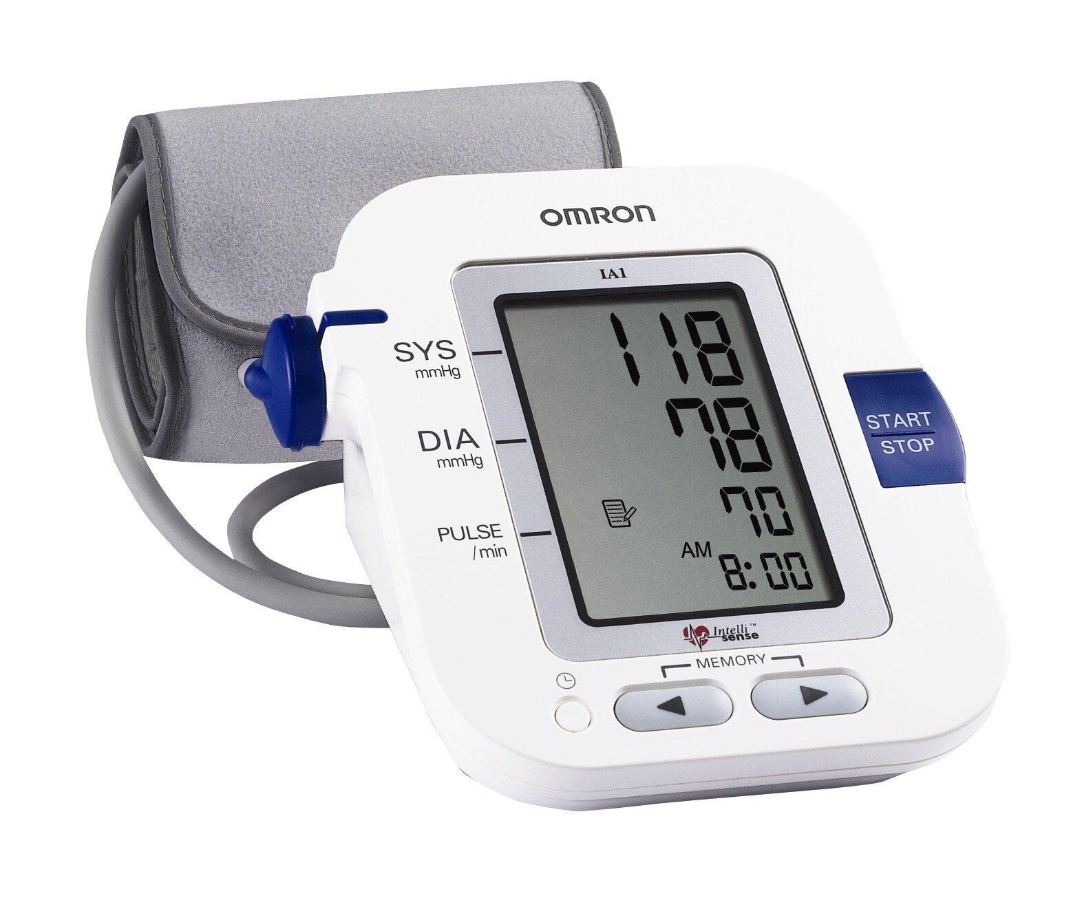 Máy đo huyết áp Omron có tốt không? đo có chính xác không?