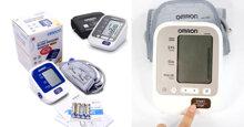 Máy đo huyết áp omron loại nào tốt ?