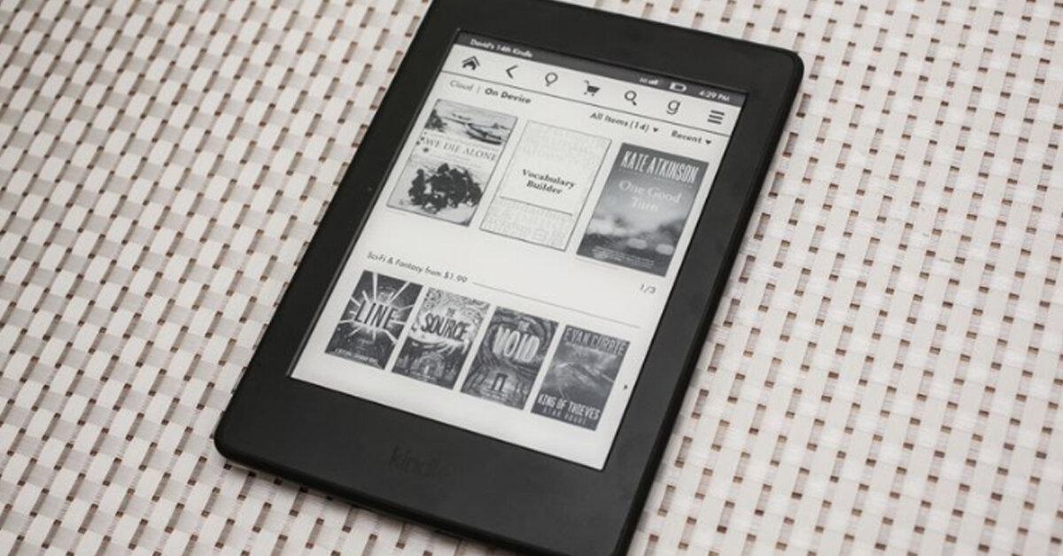 Máy đọc sách kindle nào đang bán chạy nhất tại Việt Nam ?
