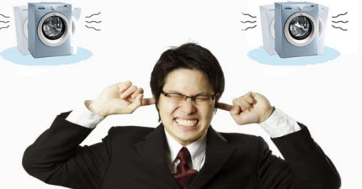 Máy giặt bị rung lắc mạnh kêu to ù ù khi vắt là tại sao ? Cách khắc phục nhanh nhất bạn nên thử
