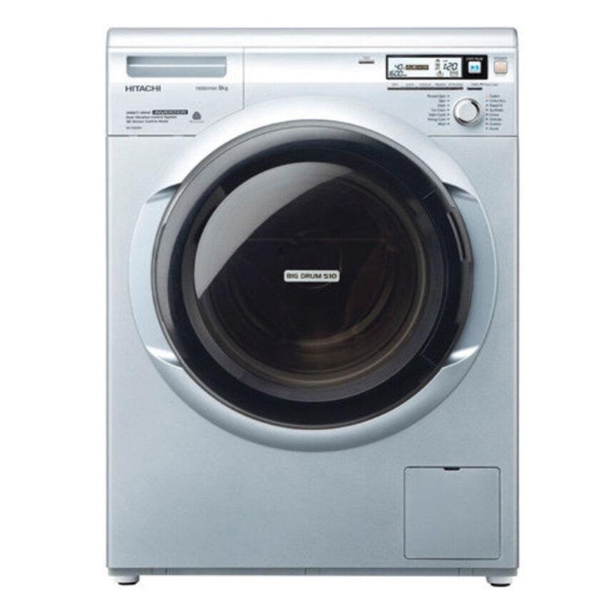 Máy giặt Hitachi 8kg lồng ngang giá rẻ mới nhất tháng 1/2018