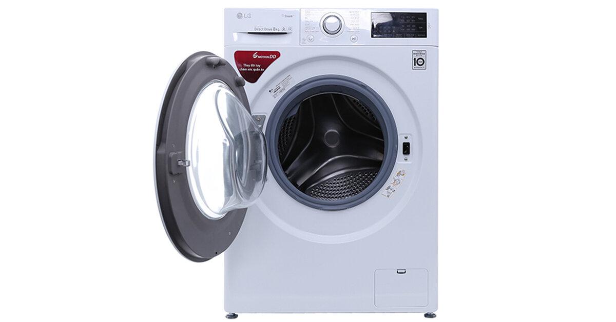 Máy giặt LG FC1408s4W2 có ồn không ? giặt có sạch và tiết kiệm điện không ?