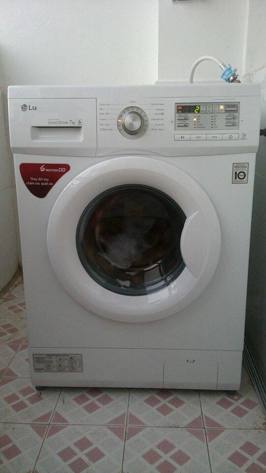 Máy giặt LG WD9600 tiết kiệm điện nước hiệu quả