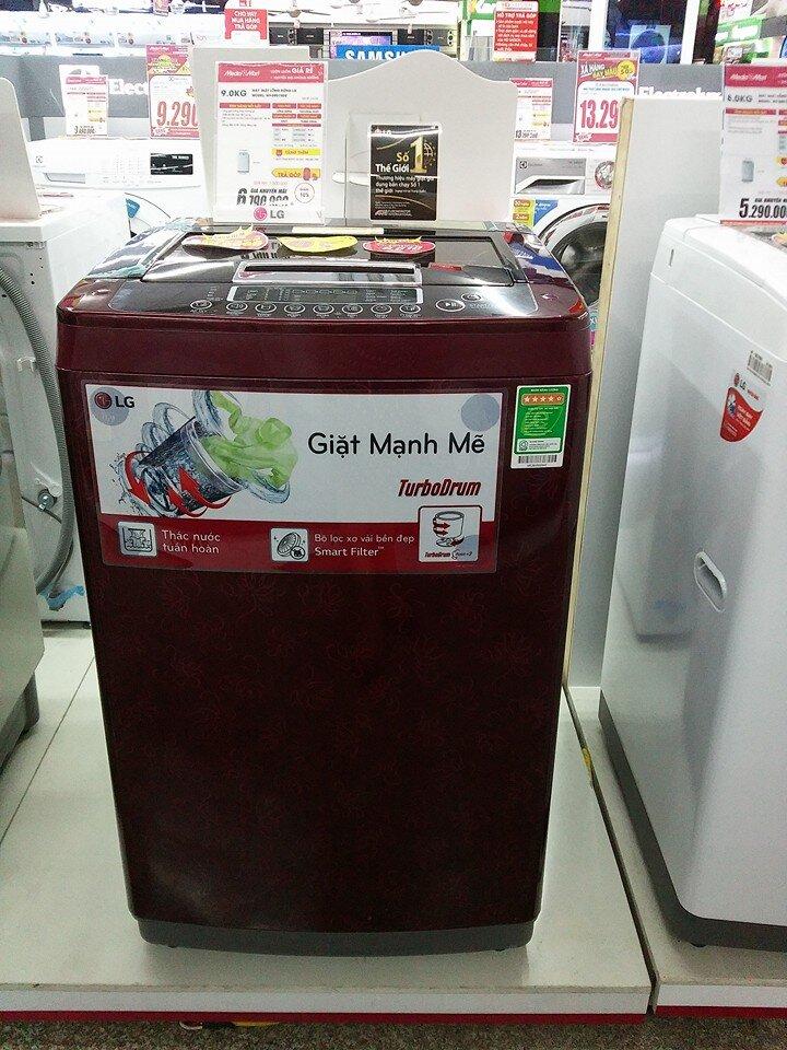 Máy giặt LG WF-S9019DR giá rẻ, khối lượng giặt lớn