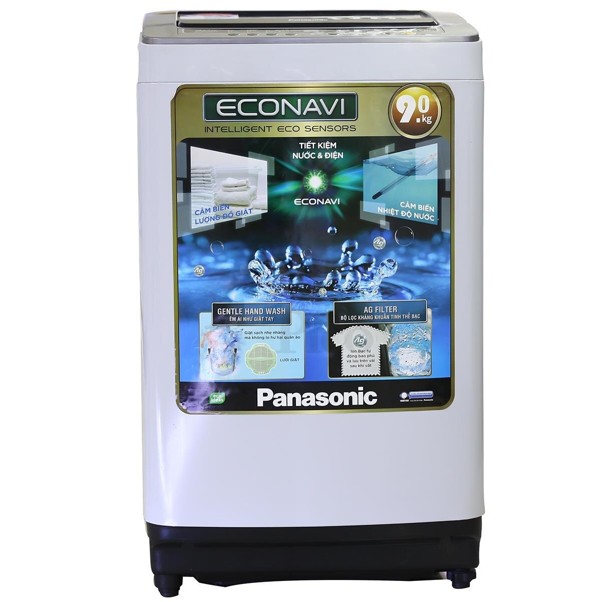 Máy giặt Panasonic 9kg lồng đứng có những loại nào giá bao nhiêu tiền?