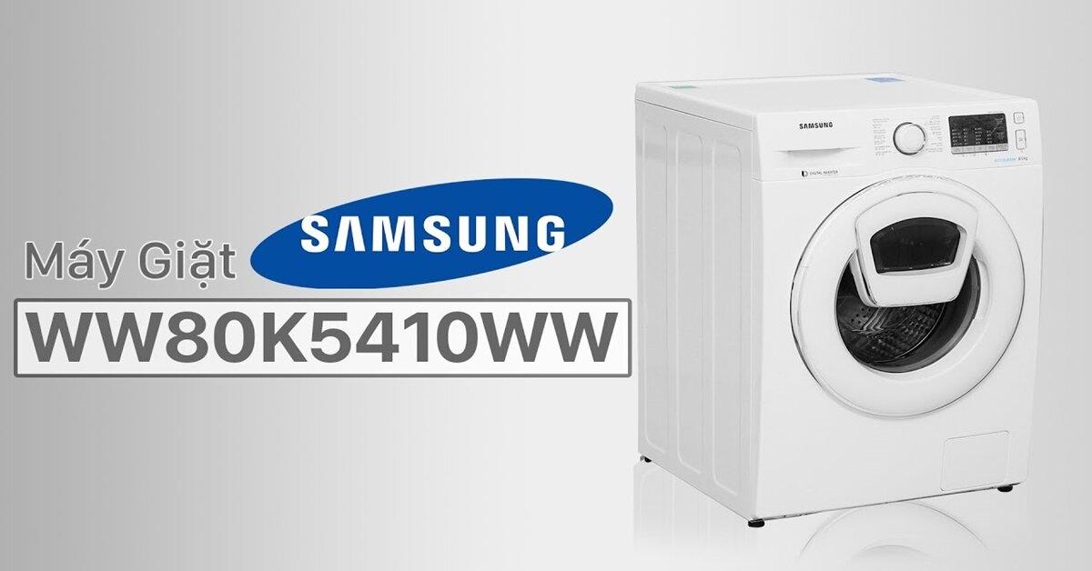 Máy giặt Samsung cửa ngang 8kg giá rẻ hơn 2 triệu đồng so với 6 tháng trước