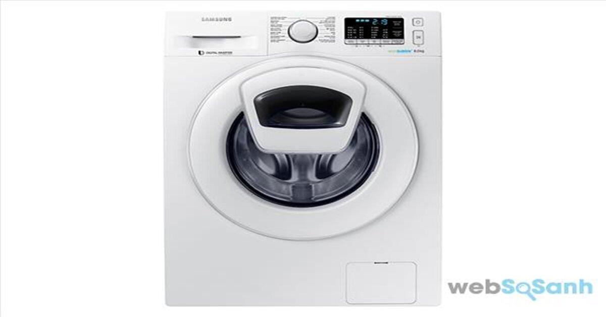 Máy giặt Samsung cửa ngang 8kg giá rẻ nhất bao nhiêu tiền ?