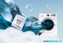 Máy giặt Samsung WF1752WQR giặt sạch nhẹ nhàng với công nghệ giặt bong bóng