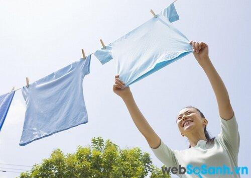 Máy giặt Samsung WF9752N5W không làm hư tổn quần áo