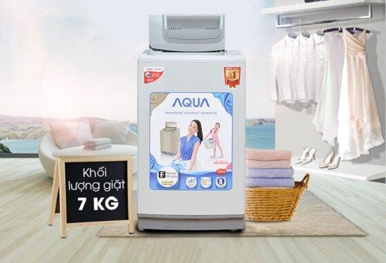 Máy giặt Sanyo 7kg lồng đứng giá bao nhiêu ?