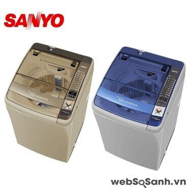 Máy giặt Sanyo ASW-DQ900ZT giặt sạch tối ưu với công nghệ sóng siêu âm