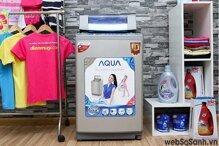 Máy giặt Sanyo ASW-DQ90ZT giặt giũ thật đơn giản