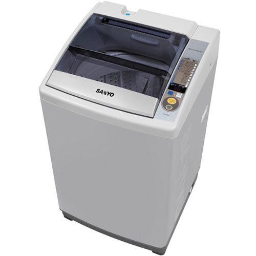 Máy giặt Sanyo ASW-S80ZT giặt sạch với chế độ nhiều luồng nước phun