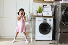 Máy giặt sấy LG WD18600 cho quần áo sạch sẽ và khô ráo