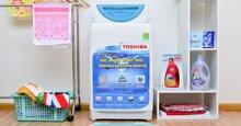 Máy giặt Toshiba 8kg lồng đứng – Không có nhiều sản phẩm nhưng vẫn giữ vững chất lượng