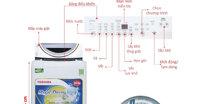Máy giặt Toshiba Magic Drum có tốt không, giá bán, cách sử dụng