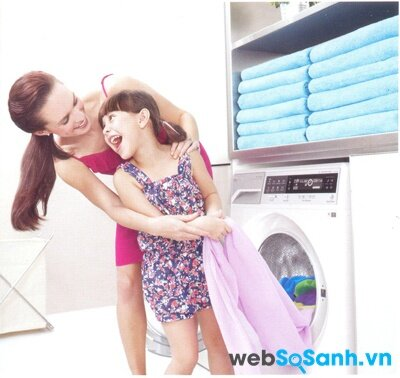 Máy giặt Toshiba TW-7011AV tẩy sạch mọi vết bẩn