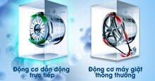 Máy giặt truyền động trực tiếp có khác máy dây curoa không ? Loại nào tốt hơn ?