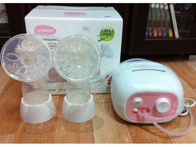 Máy hút sữa điện đôi Unimom forte có tốt không?