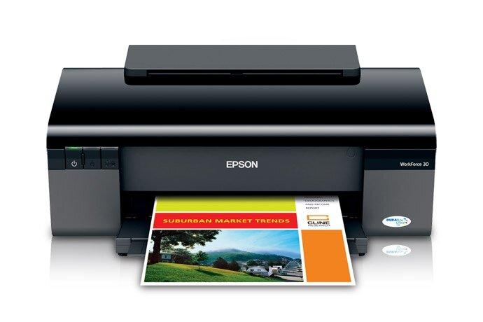 Máy in phun màu Epson WorkForce 60: trợ thủ cho các doanh nghiệp