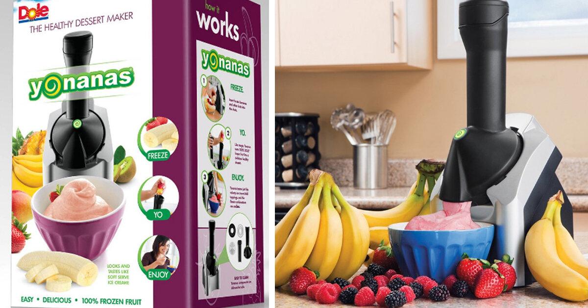 Máy làm kem Yonanas có tốt không ? Giá máy làm kem Yonanas bao nhiêu tiền ?