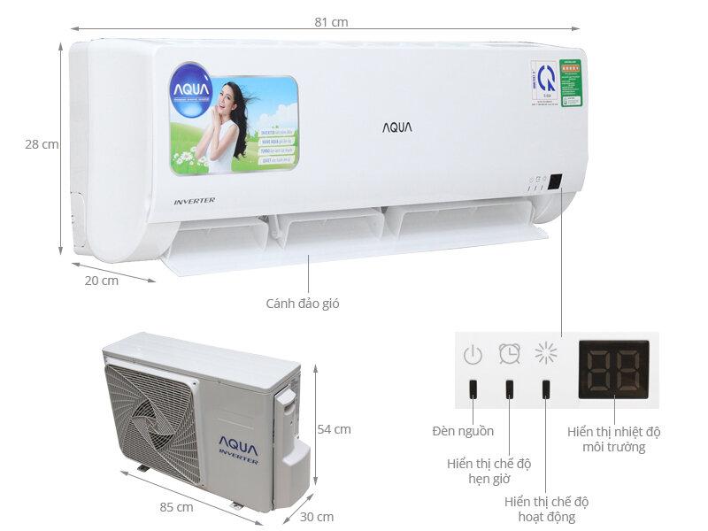 Máy lạnh Aqua của nước nào sản xuất?