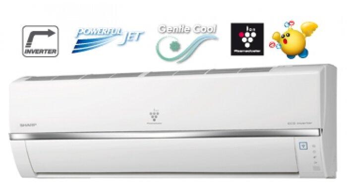 Máy lạnh Sharp inverter 9000btu 1hp có phù hợp với tất cả các phòng ban không