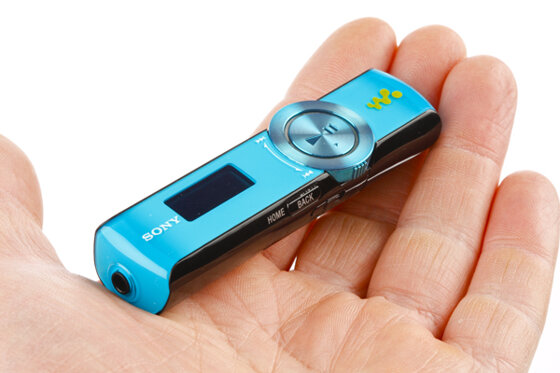 Máy nghe nhạc mp3 Sony Walkman NWZ B173: Thiết kế trẻ trung năng động