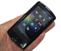 Máy nghe nhạc Sony Walkman A864: cảm nhận âm thanh trên từng ngón tay