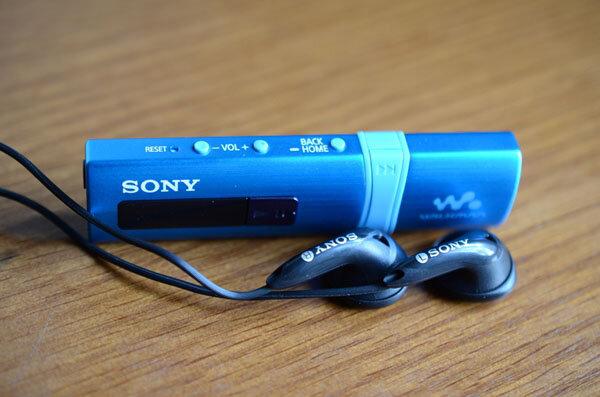 Máy nghe nhạc Sony Walkman NWZ- B183F: một chút mới mẻ từ Sony