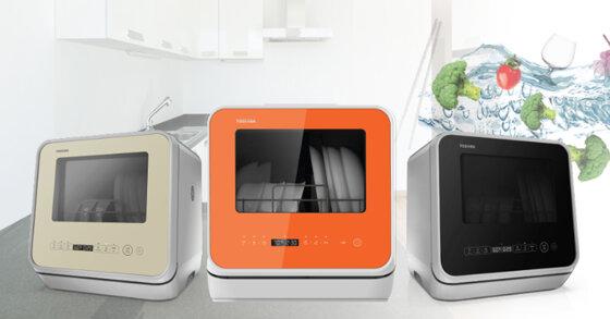 Máy rửa chén mini Toshiba có tốt không ? Có mấy màu ? Giá bao nhiêu ?