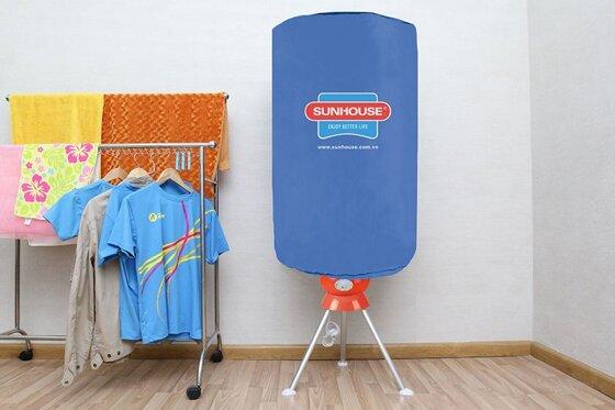 Máy sấy quần áo Sunhouse có tốt không, giá bao nhiêu, cách sử dụng