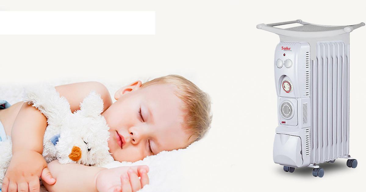 Máy sưởi cho trẻ sơ sinh có an toàn và khỏe mạnh không?