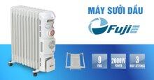 Máy sưởi dầu Fujie có tốt không? Có những loại nào?