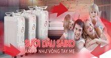 Máy sưởi dầu Saiko OR-5211T đem lại lợi ích gì cho người tiêu dùng
