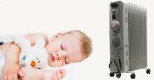 Máy sưởi dầu Tiross có an toàn cho trẻ sơ sinh