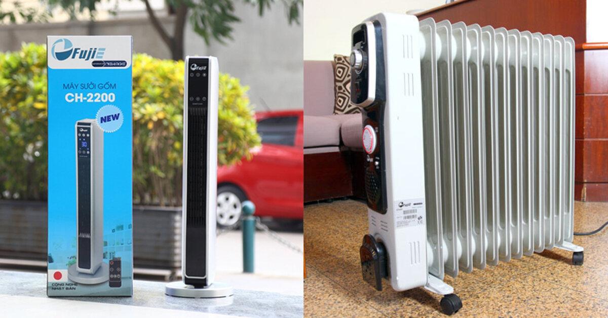Máy sưởi gốm và máy sưởi dầu loại nào tốt hơn ?