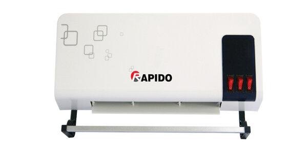 Máy sưởi Rapido: máy sưởi tiêu chuẩn Châu Âu