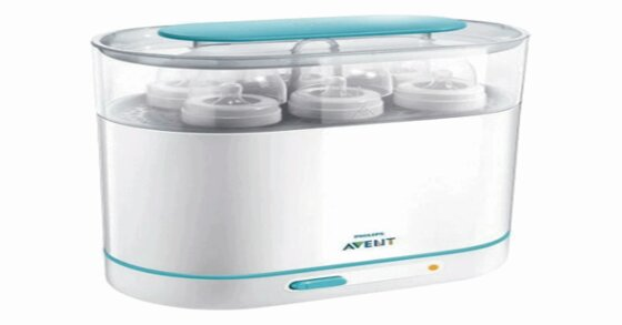 Máy tiệt trùng bình sữa Avent 3 trong 1– diệt sạch vi khuẩn hiệu quả chỉ trong 6 phút