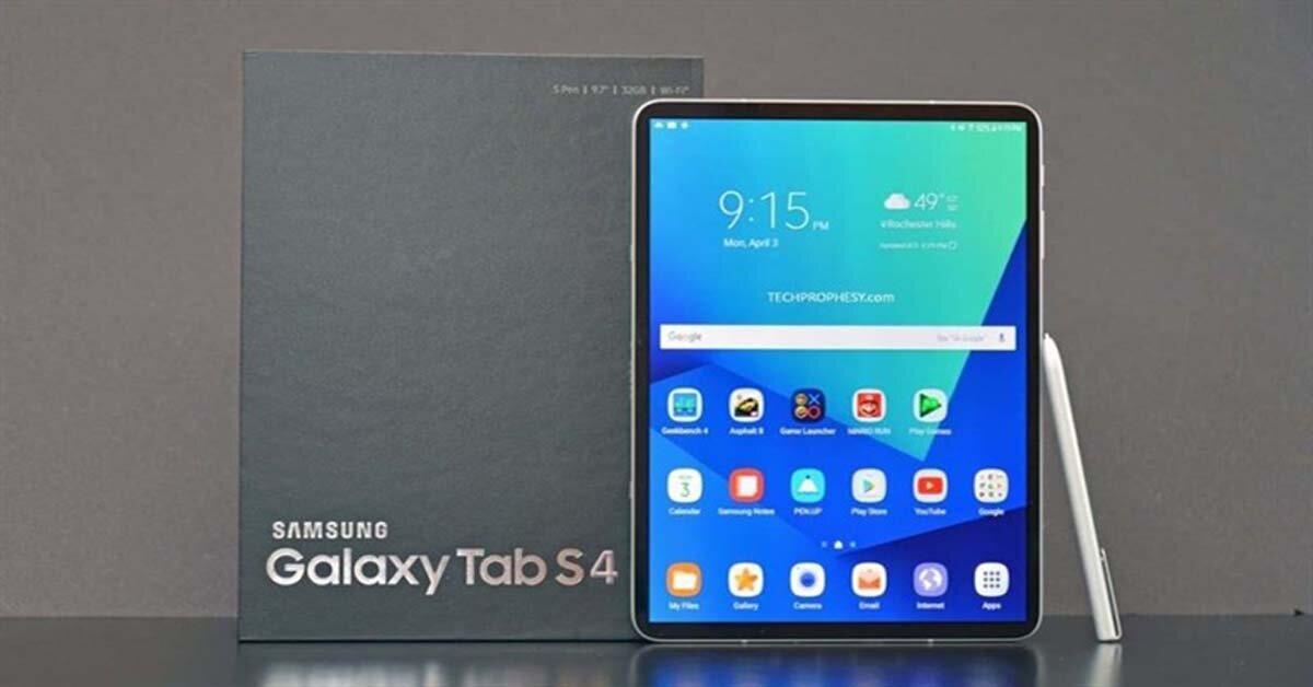 Máy tính bảng Galaxy Tab S4 sắp ra mắt với thiết kế tràn viền tương tự iPhone X