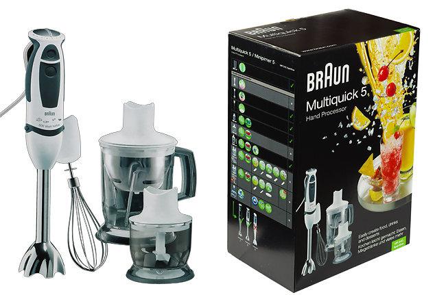 Máy xay cầm tay Braun MR540 – Sự lựa chọn cho sự thông thái