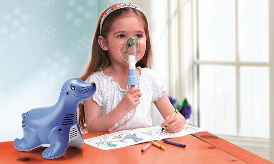 Máy xông mũi họng cho trẻ em loại nào tốt: Omron, Beurer hay Medisana
