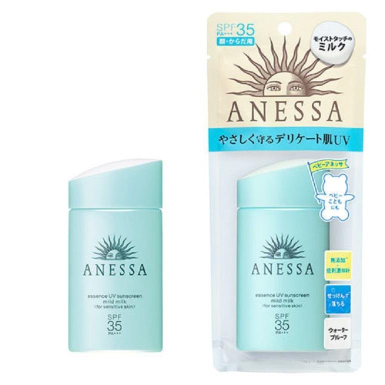 Kem chống nắng Anessa cho trẻ em và làn da nhạy cảm: